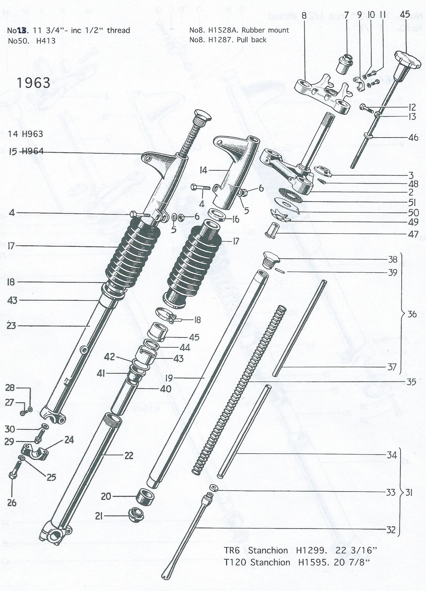Triumph T140 Wiring Diagram Triumph 5T Wiring Diagram