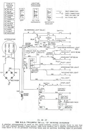 Triumph Tr4a Wiring Diagram  Wiring Diagram Pictures