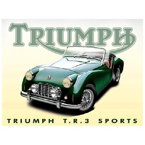 A Green Triumph TR3