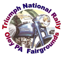 Triumph National Rally Logo 50s