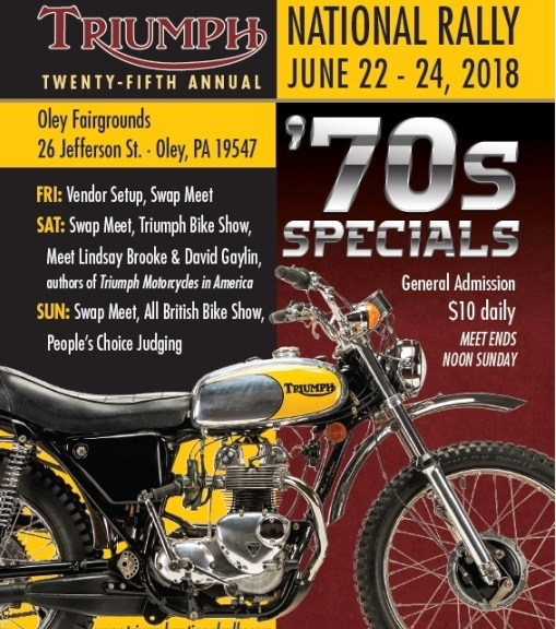 triumph national rally come join us in june