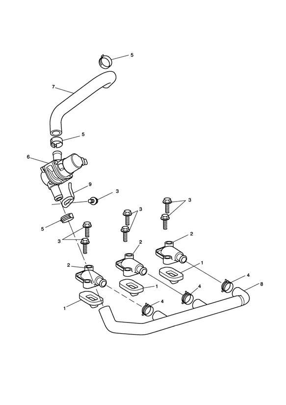 2018 Triumph Sprint Guide, Solenoid Mtg. System, Fuel