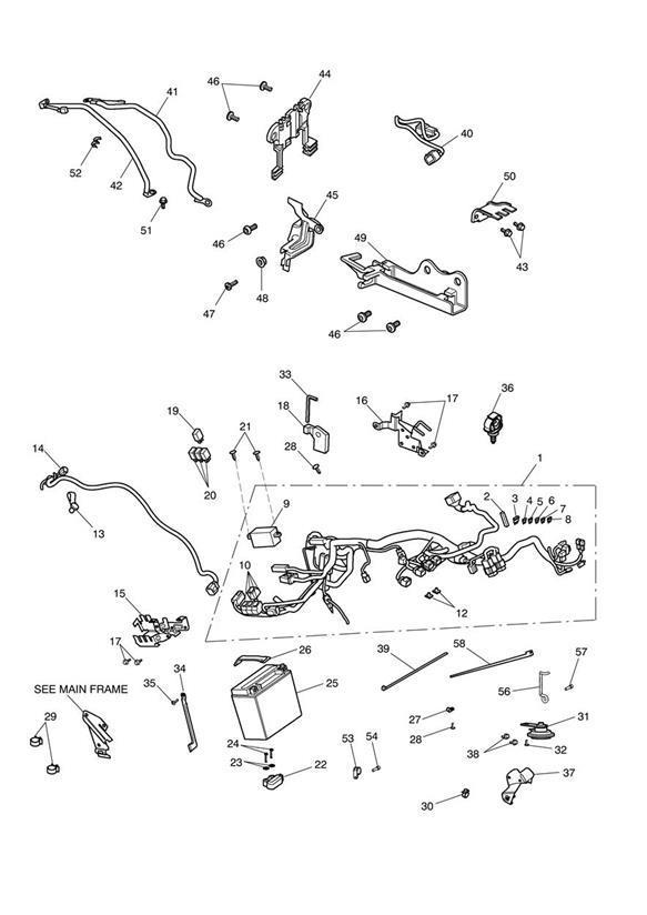 2009 Triumph Thunderbird Fuse, 30A. Electrical, News