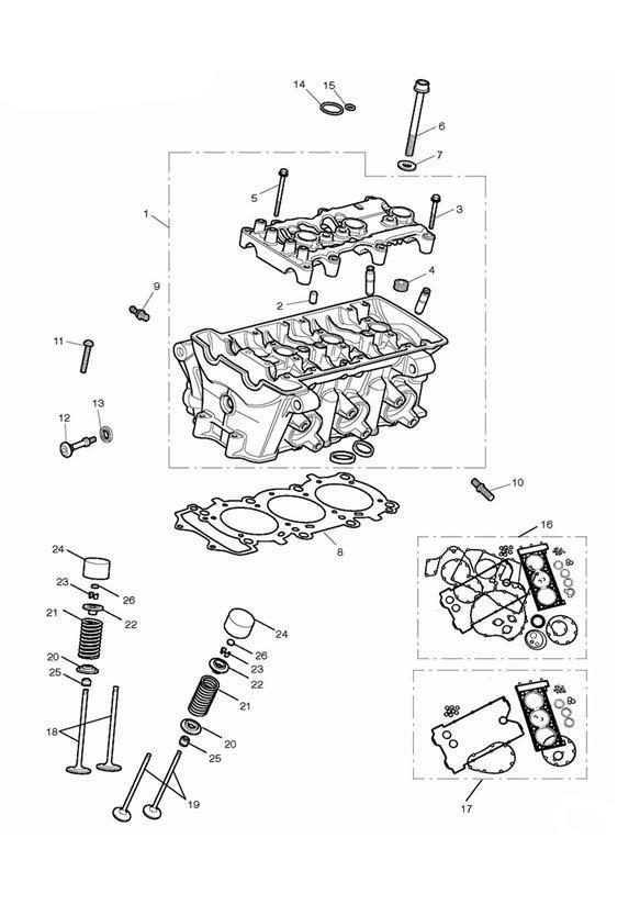 2014 Triumph Daytona Shim, 2.800mm. Engine, Head, Cylinder