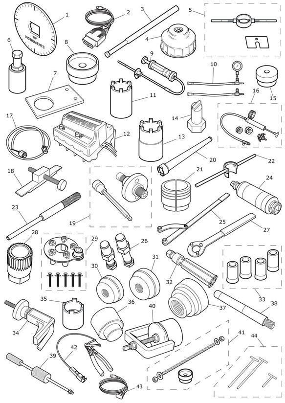 2013 Triumph Tiger Alternator Wrench. Tools, Service
