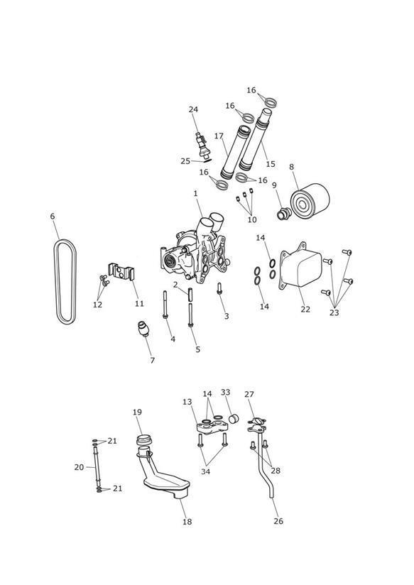 2016 Triumph Tiger Chain, Aux Drive, Silent. Engine, Pump