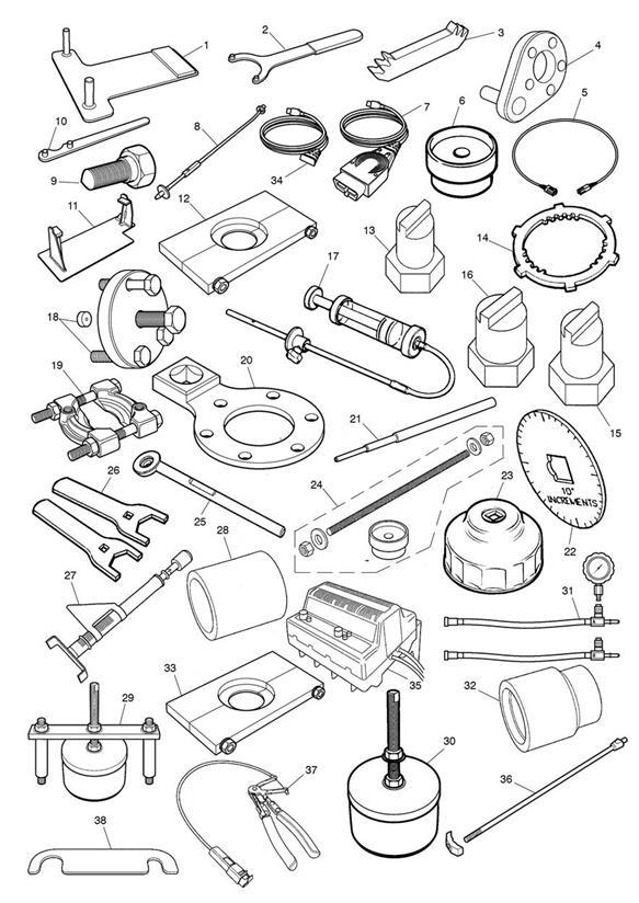 2018 Triumph Thunderbird Engine Support Plate. Tools