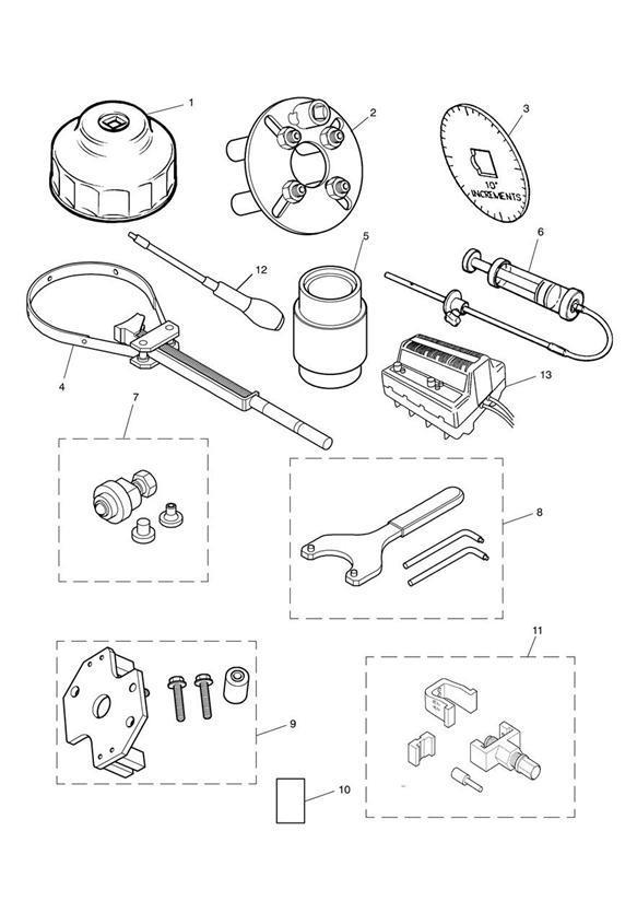 2003 Triumph America Oil Filter Wrench. Tools, Service