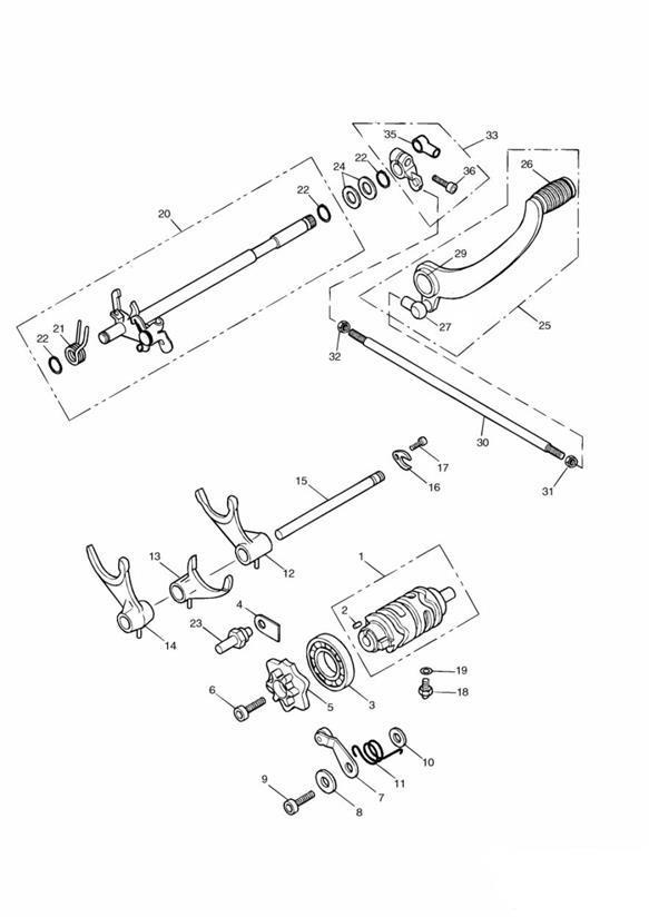 2003 Triumph Speedmaster Neutral Switch. Neutral Indicator