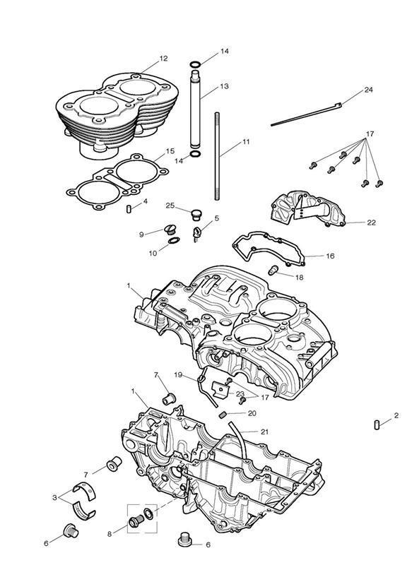 2005 Triumph Speedmaster Hose, Breather Drain Extension