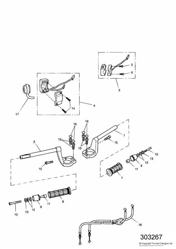 2000 Triumph Sprint Screw, Skt Hd, Ss. Pannier, Kit