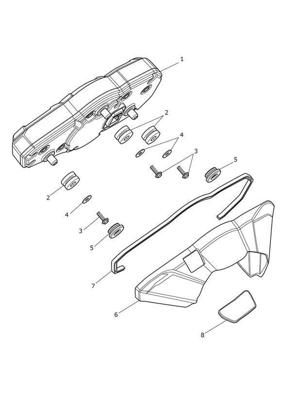 2014 Triumph Tiger Washer, 5.3 x 18 x 1.6. Gear