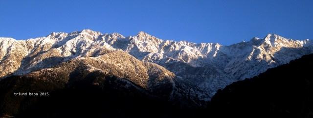 Dhauladhar Mountain of Palampur side