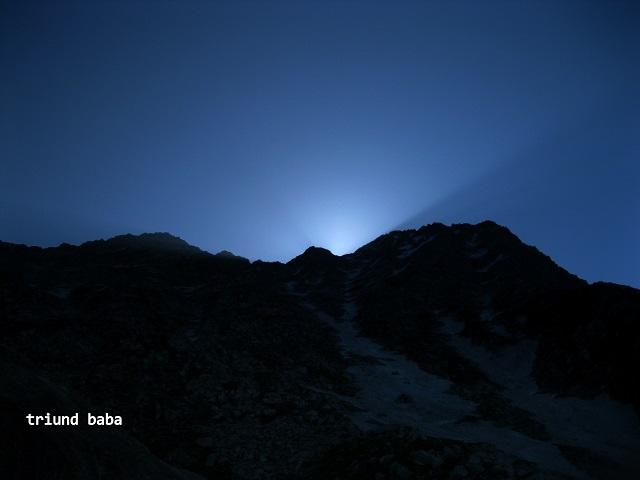 Sun Rise over Mun Peak