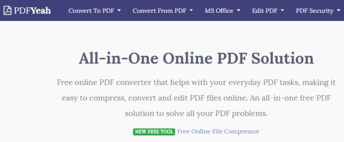 conversie pdf pdfyeah