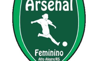 Fardamento personalizado para a Equipe Feminina do Arsenal, da cidade de Alto Alegre – RS.