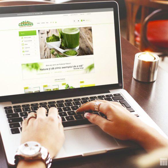 Web Design Bucuresti - Puterea Naturii (puterea-naturii.ro)