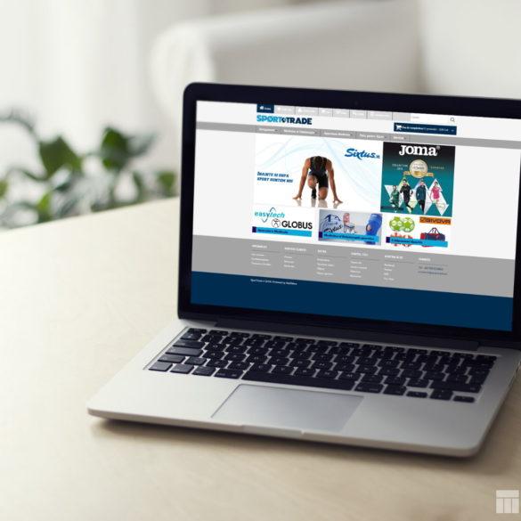 Web Design Bucuresti - Sport Trade (sportrade.ro)