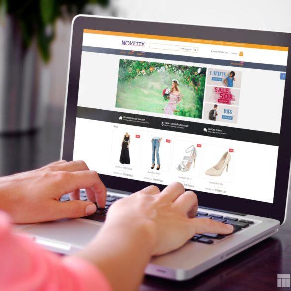 Web Design Bucuresti - Novetti (novetti.ro)