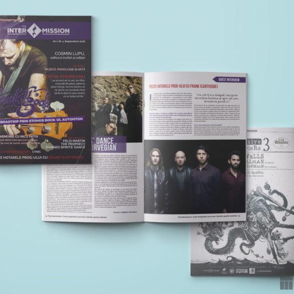 Web Design Bucuresti - The Intermission Magazine No1
