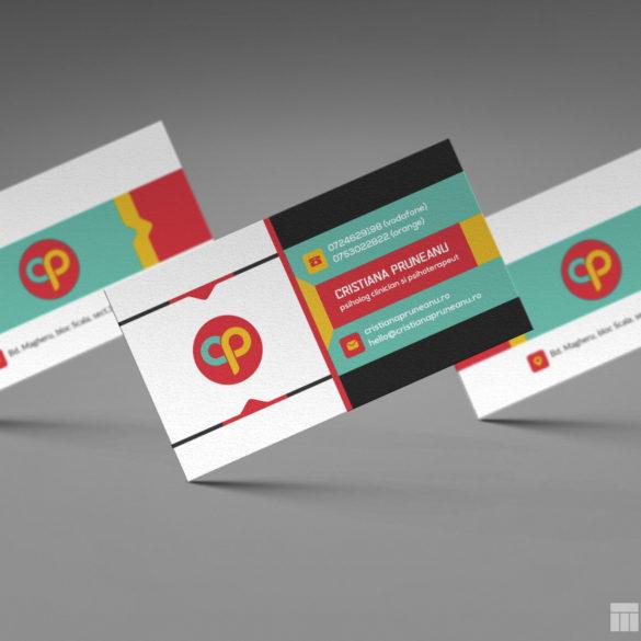Web Design Bucuresti - Cristiana Pruneanu Business Card