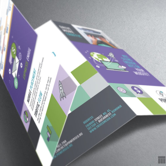 Web Design Bucuresti - Power SEO Flyer
