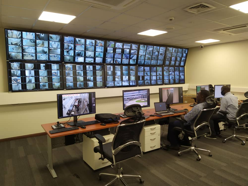 Monitoring Room View