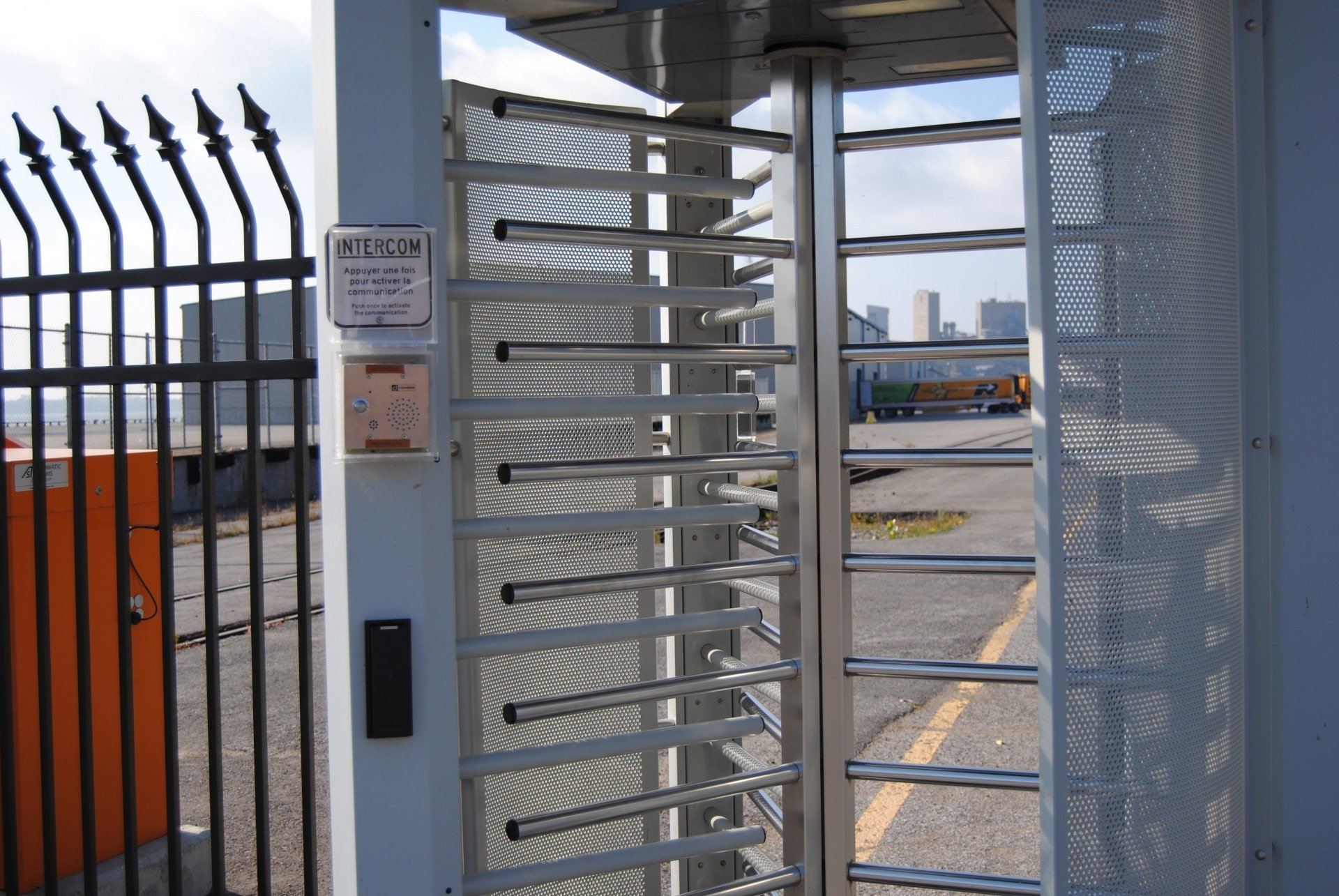 physical access control policies and procedures