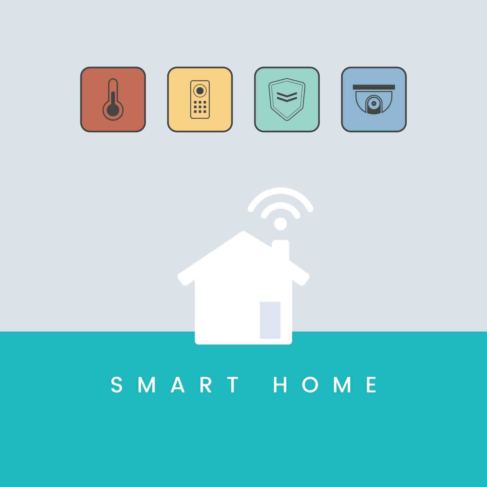 Security Control for Home Automation