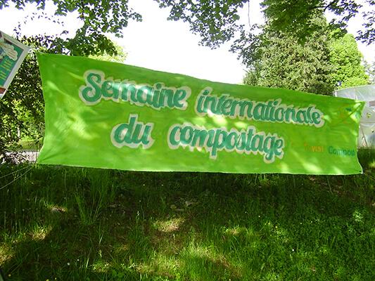 Notre semaine internationale du compostage