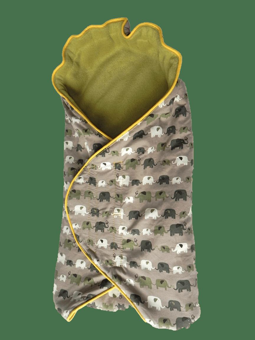 Patroon voor een baby wikkeldeken en tutorial  Made by Jo