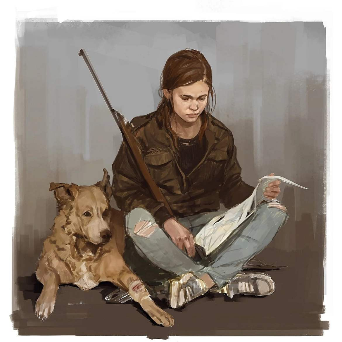 Arte conceituais The Last of Us 2 mostram mais de Ellie 1