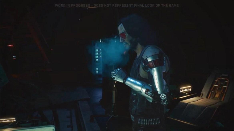 """Reações: Keanu Reeves não está tão """"breathtaking"""" assim em Cyberpunk 2077 2"""