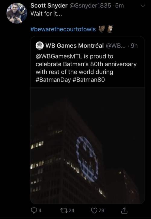 Batman Corte das Corujas