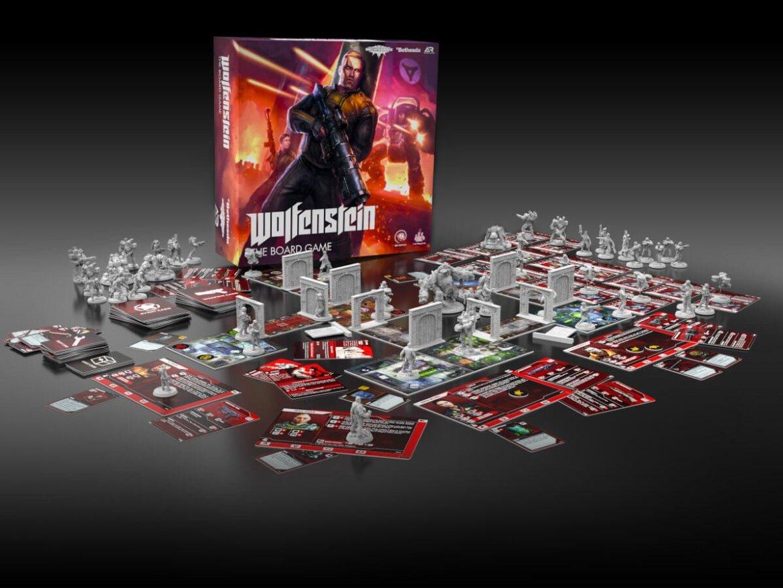 Archon Studio anuncia boardgame de Wolfenstein 3
