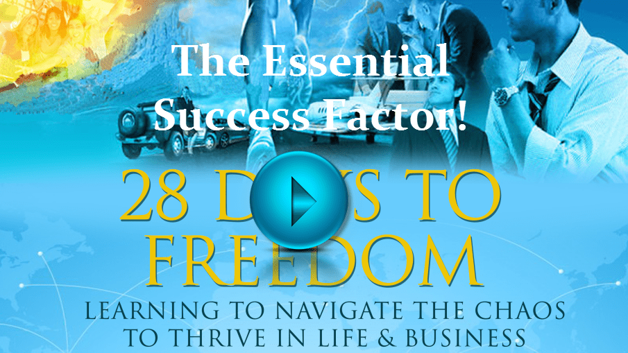 28 Days to Freedom Series - Video Lesson 3 - The Essential Success Factor