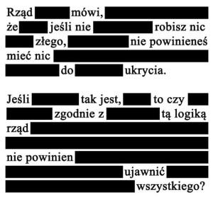 Cenzura - inwigilacja