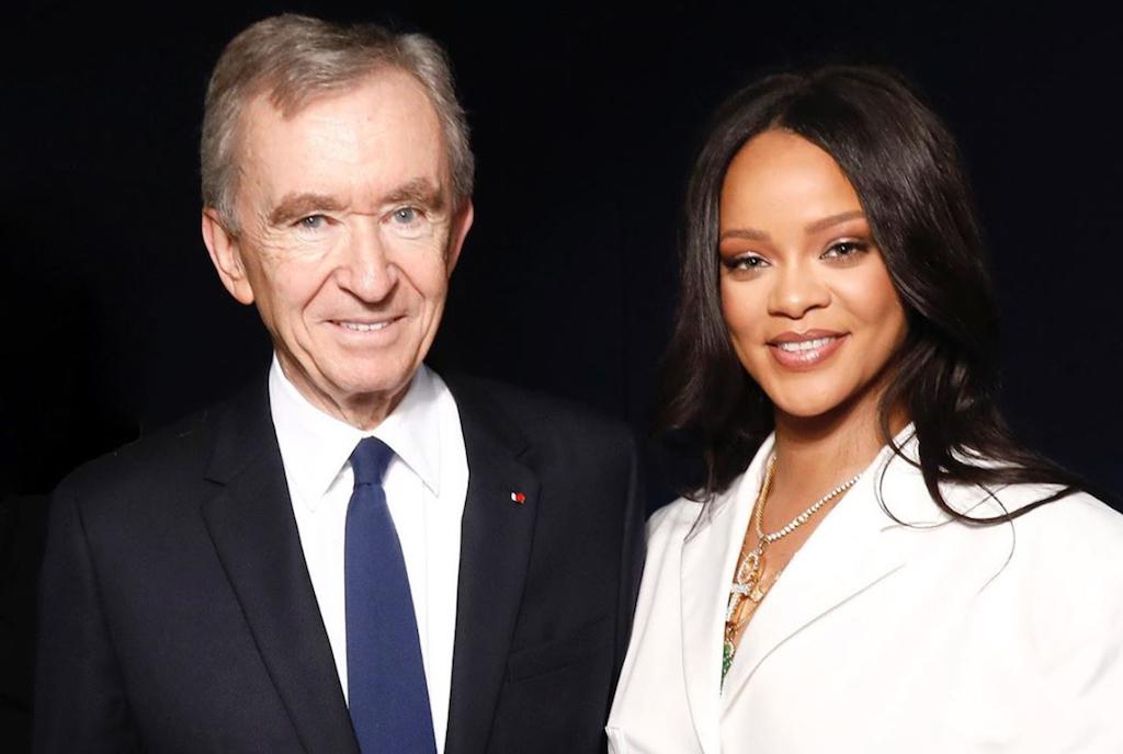 Bernard Arnault et Rihanna