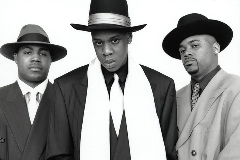 Kareem Burke, Jay Z et Damon Dash