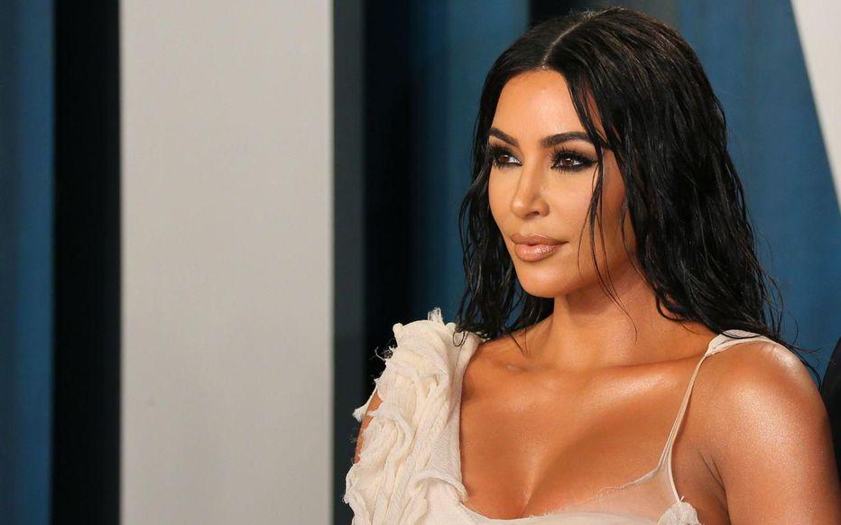 Kim Kardashian Kiss