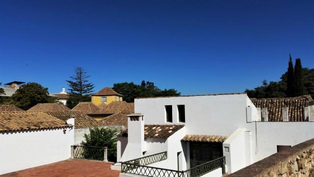 Faro old town moorish roofs