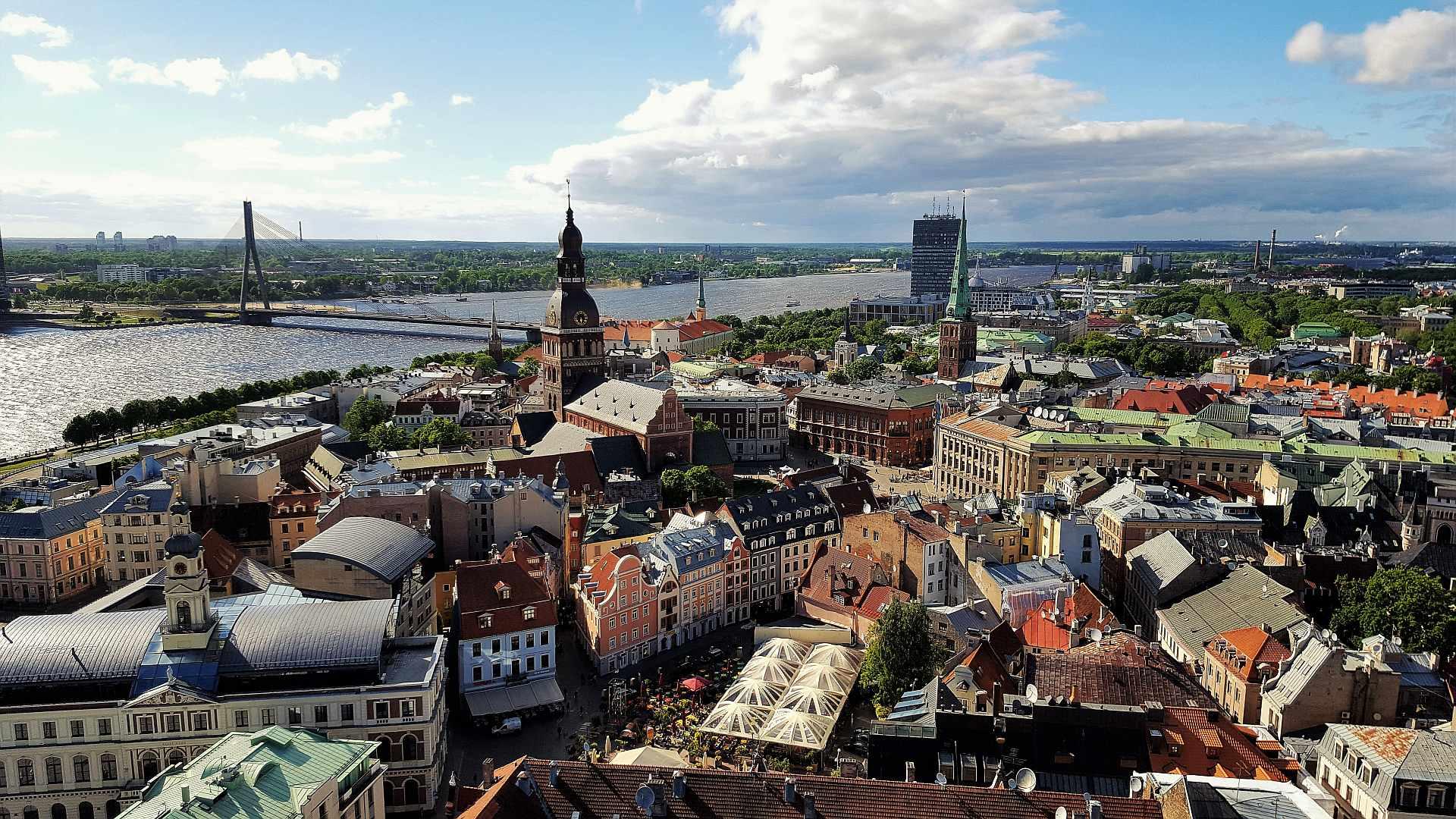 Viewpoint from Saint Peter's Church - Riga - trivo.ro