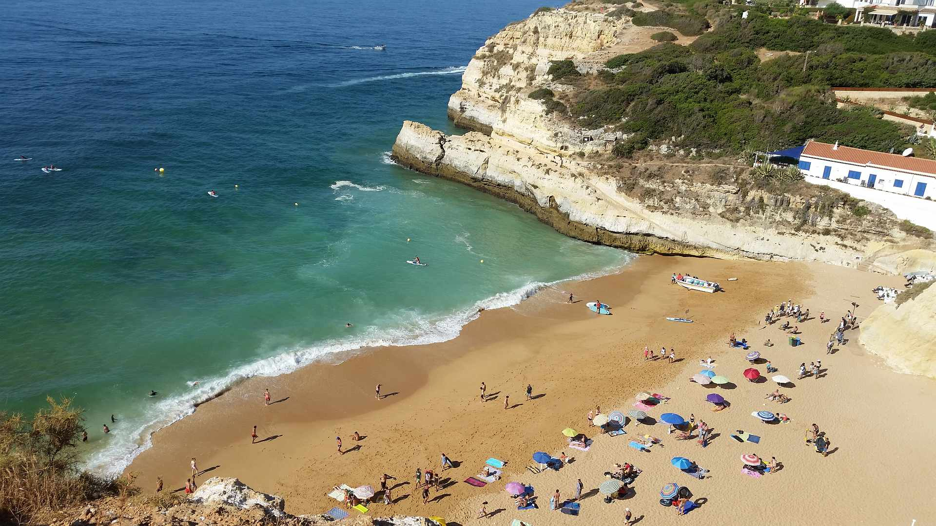 Lagao - Algarve - Praia de Benagil in the morning