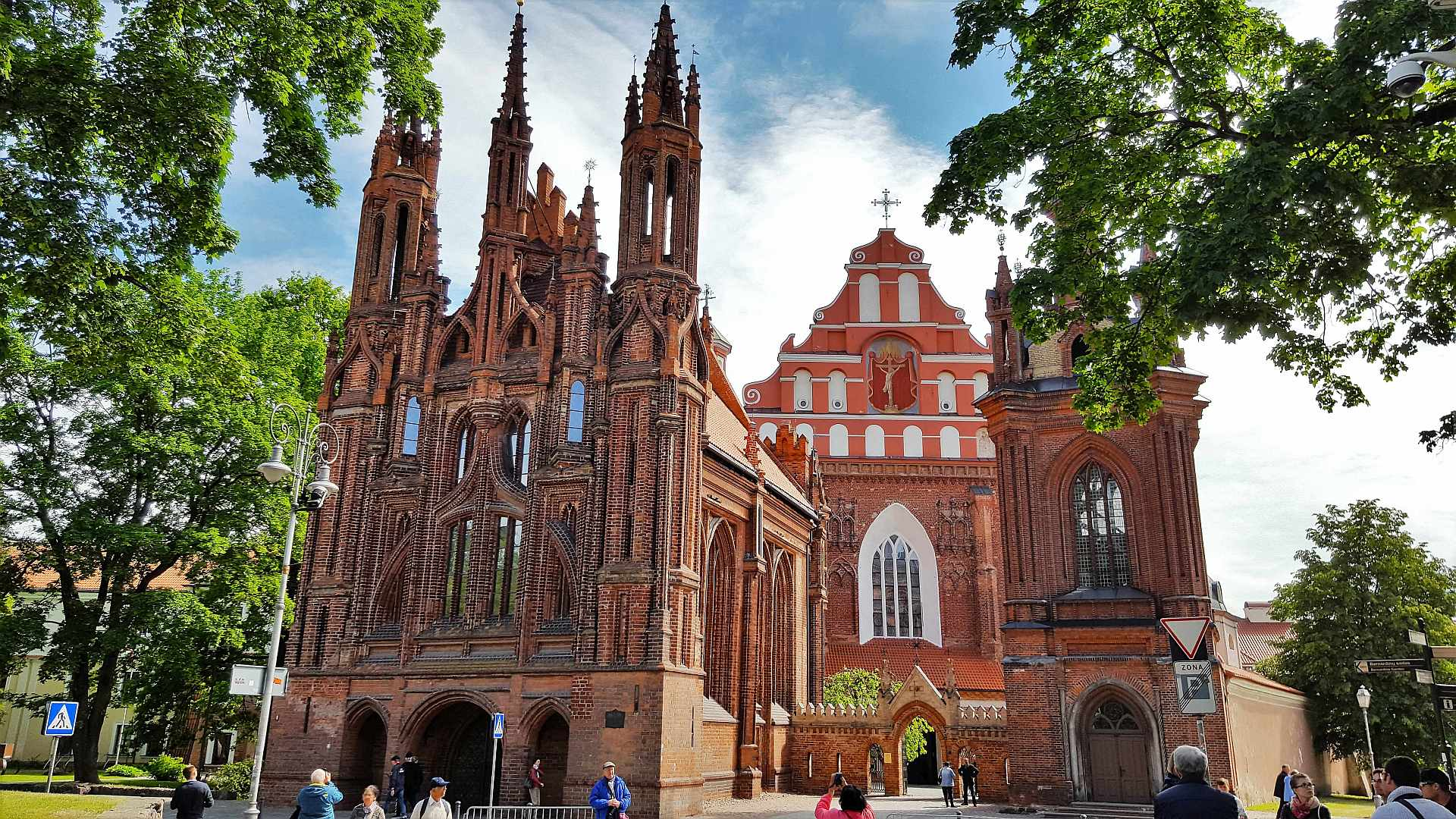 St Anne's and Bernadine's Churches - Vilnius - Trivo.ro