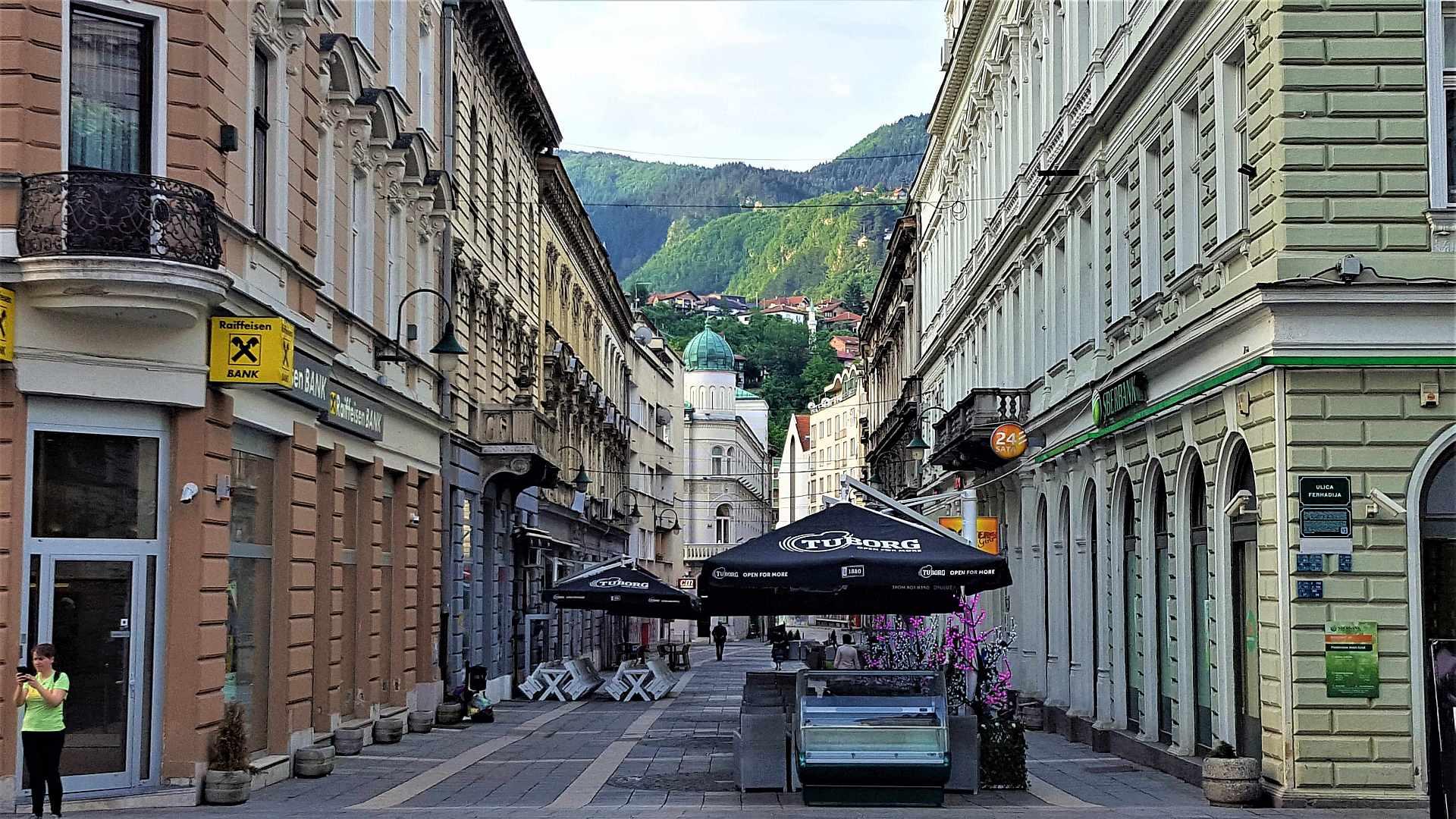 Top atractii Sarajevo - centrul orasului
