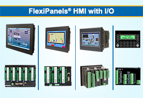 FlexiLogics® HMI with IO