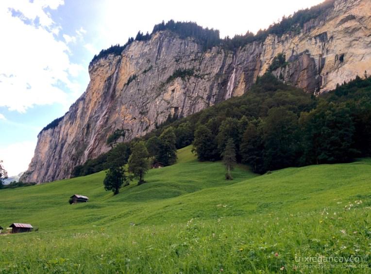 Switzerland-Mürren-Lauterbrunnen-Valley-Waterfalls