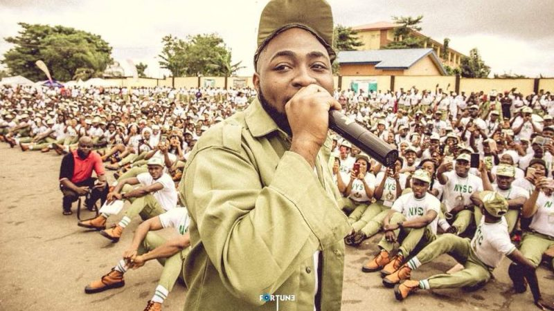 'I have passion for NYSC' – Davido