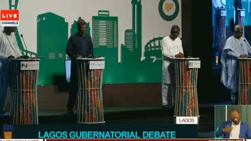 Lagos Gov Debate: I'll tackle Apapa gridlock within 100 days, Sanwo-Olu assures lagosians