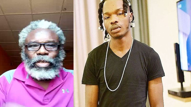 Naira Marley fulfills pledge to Old fan, gives him N1 Million
